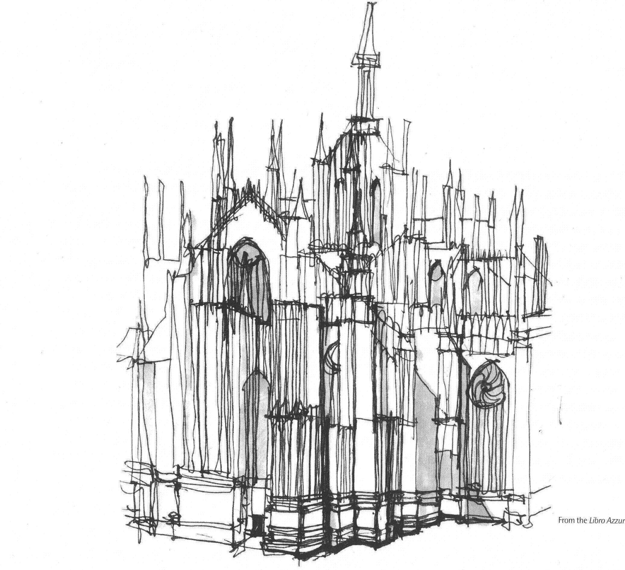Aldo Rossi, Milan Cathedral