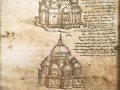 Leonardo Da Vinci, Sketches for centralized churches