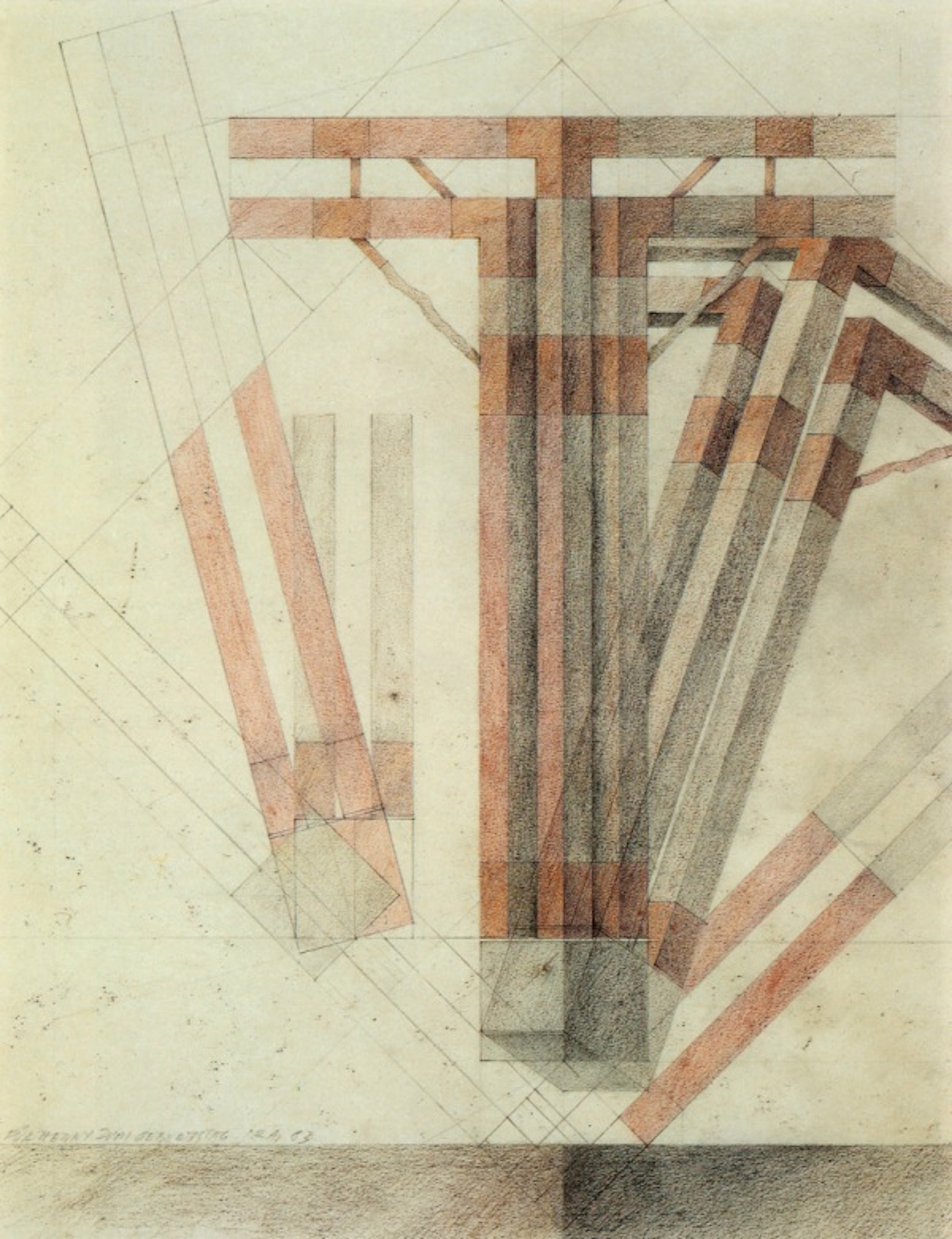 Raimund Abraham, House For Euclid - corner detail