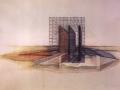 Raimund Abraham, House With Three Walls