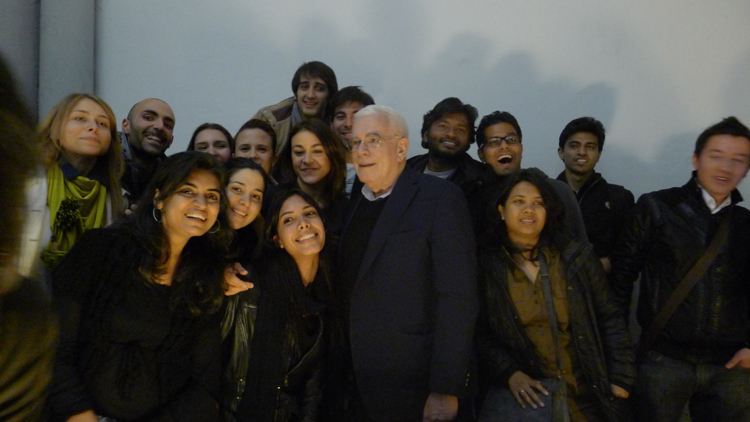 Eisenman and students-s